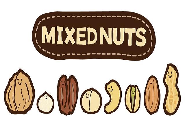 ミックスナッツを食べると健康的な効果は?